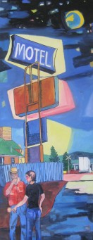 "Livingston Motel Series, 62 x 24"" Back, 62"" x 24"""