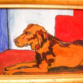 """Jade, framed 9 x 11"""", $295"""