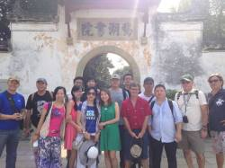 Chinese and Montana artists tour Jiangxi province