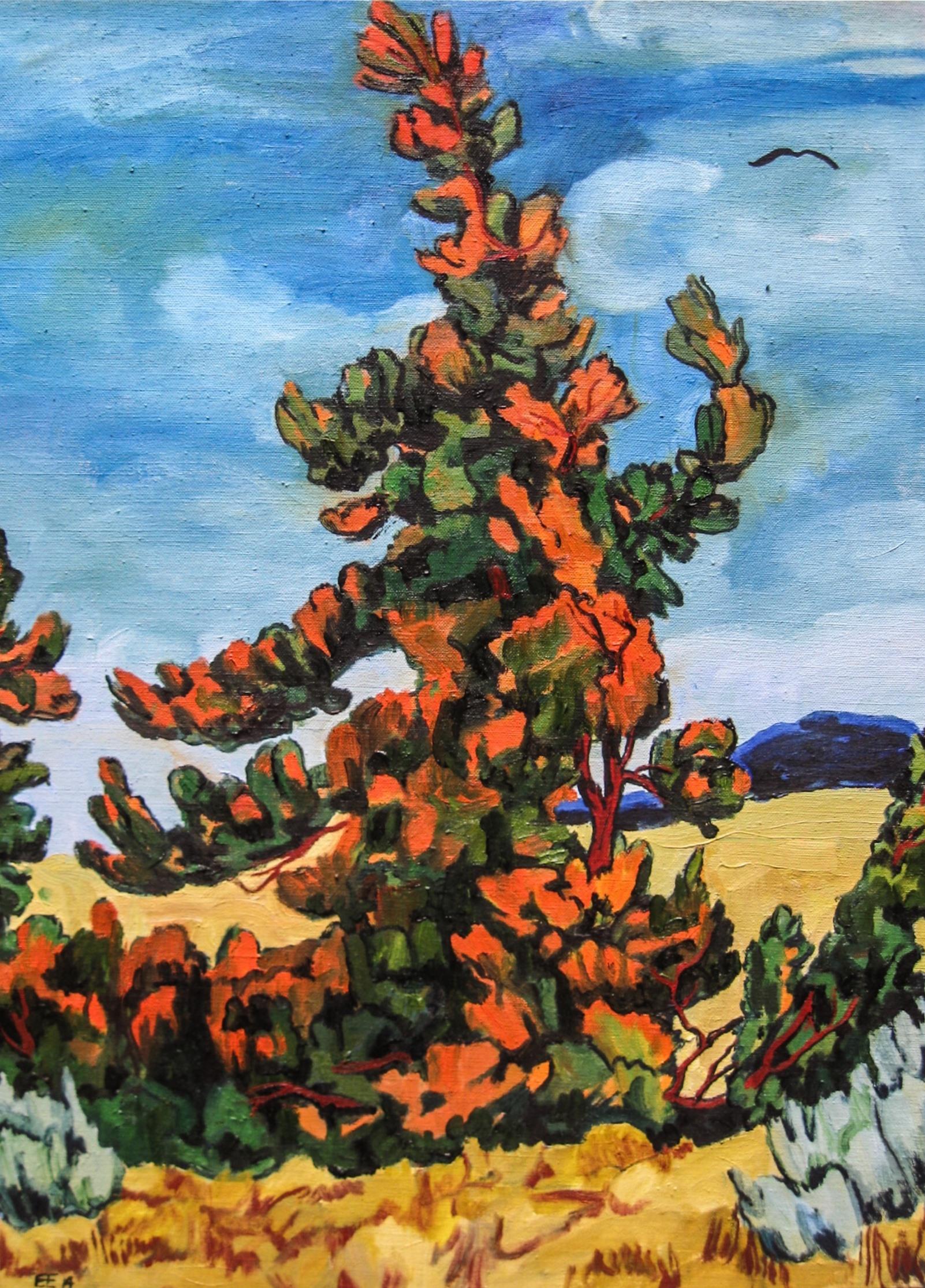 Juniper Tree #2 18 x 24